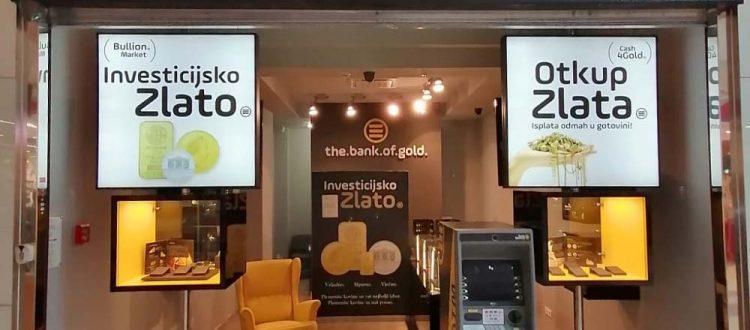 Otkup zlata Mall of Split